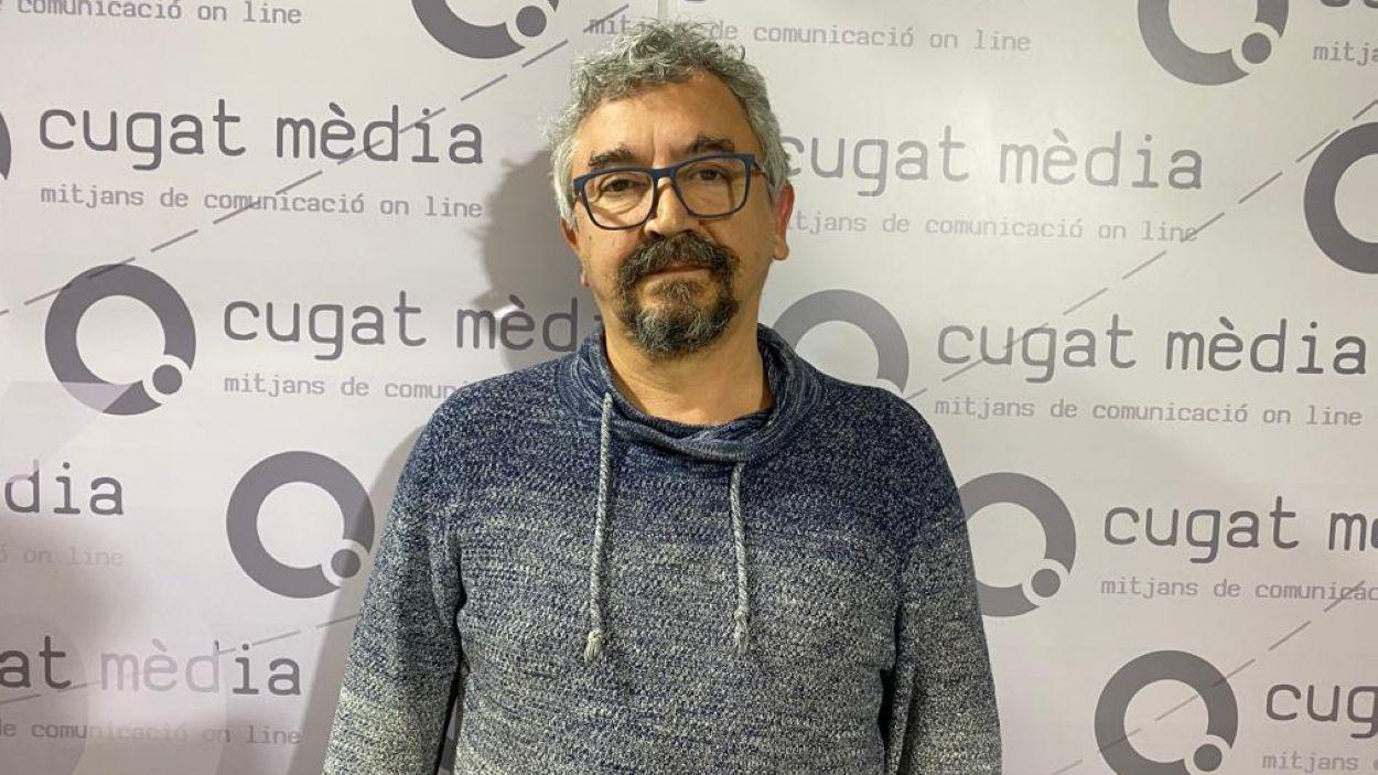 El president de l'0límpyc Floresta, Àngel Ruiz / Font: Cugat Mèdia