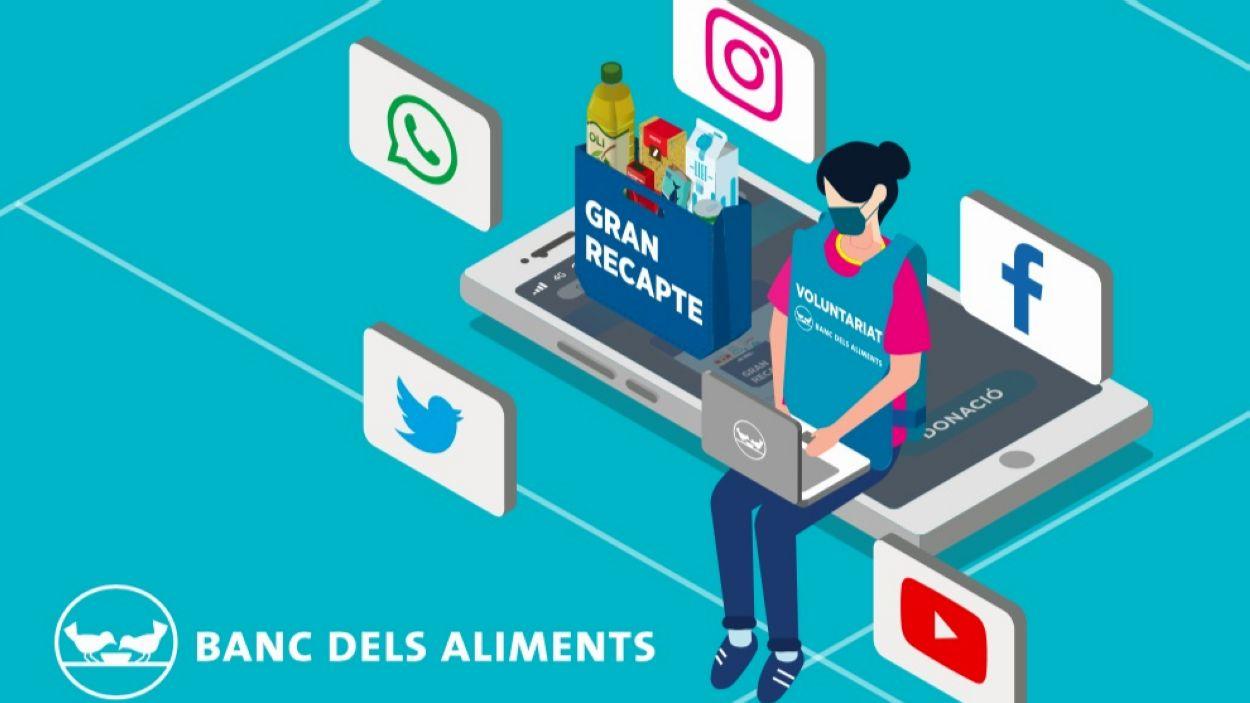 Cartell del 2020 del Gran Recapte / Foto: Banc d'Aliments