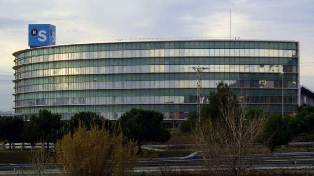 La seu del Banc Sabadell a la B-30, a Sant Cugat / Foto: BS