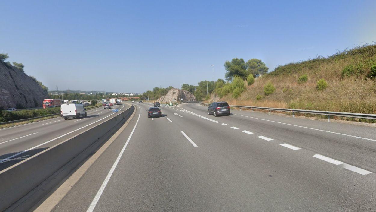 Imatge de l'AP-7 / Foto: Google Maps