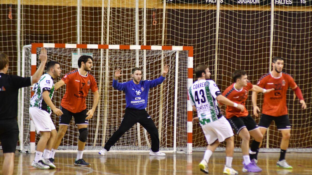 Imatge de la darrera jornada de l'Handbol Sant Cugat / Font: Anna Maymús