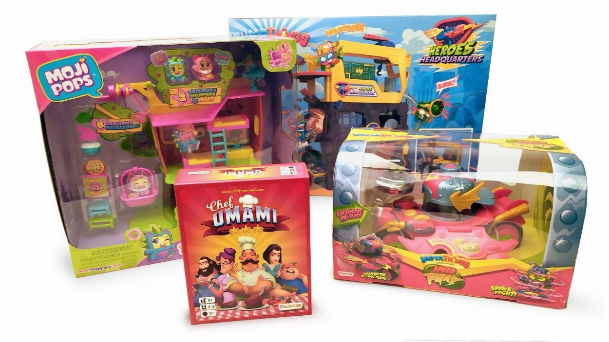 Imatge d'alguns dels productes de Magic Box Toys / Foto: Andreu Sierro (Magic Box)