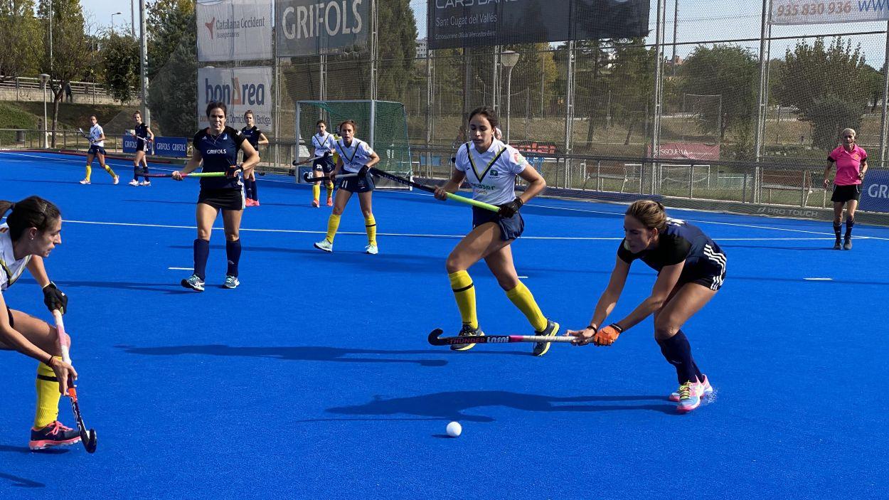 El Junior guanya a l'Egara amb un solitari gol de Júlia Strappato / Font: Cugat Mèdia