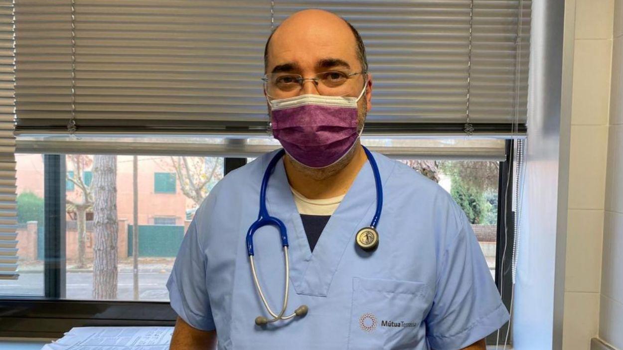 El doctor Tomàs Pérez Porcuna / Foto: Cedida