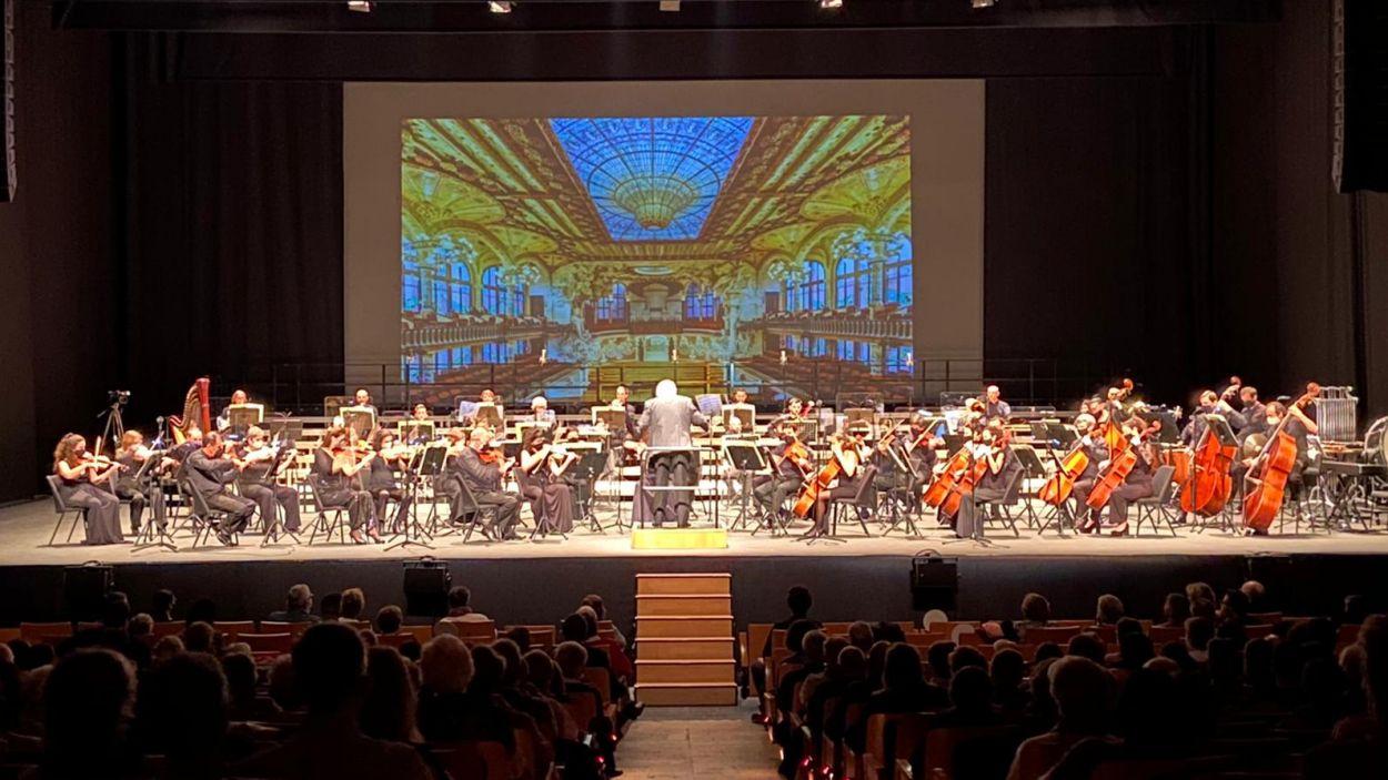 La Simfònica ha celebrat l'aniversari a casa, al Teatre-Auditori / Foto: Ajuntament de Sant Cugat