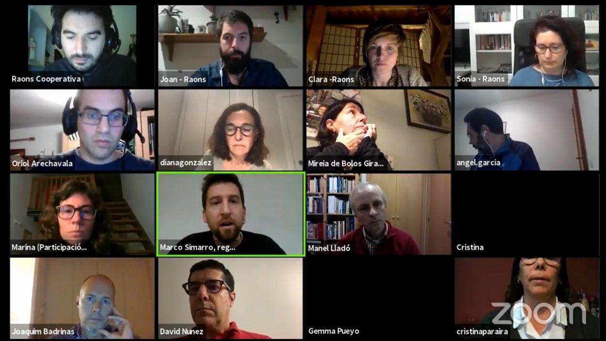 La sessió se celebrarà per videoconferència / Foto: Captura de pantalla