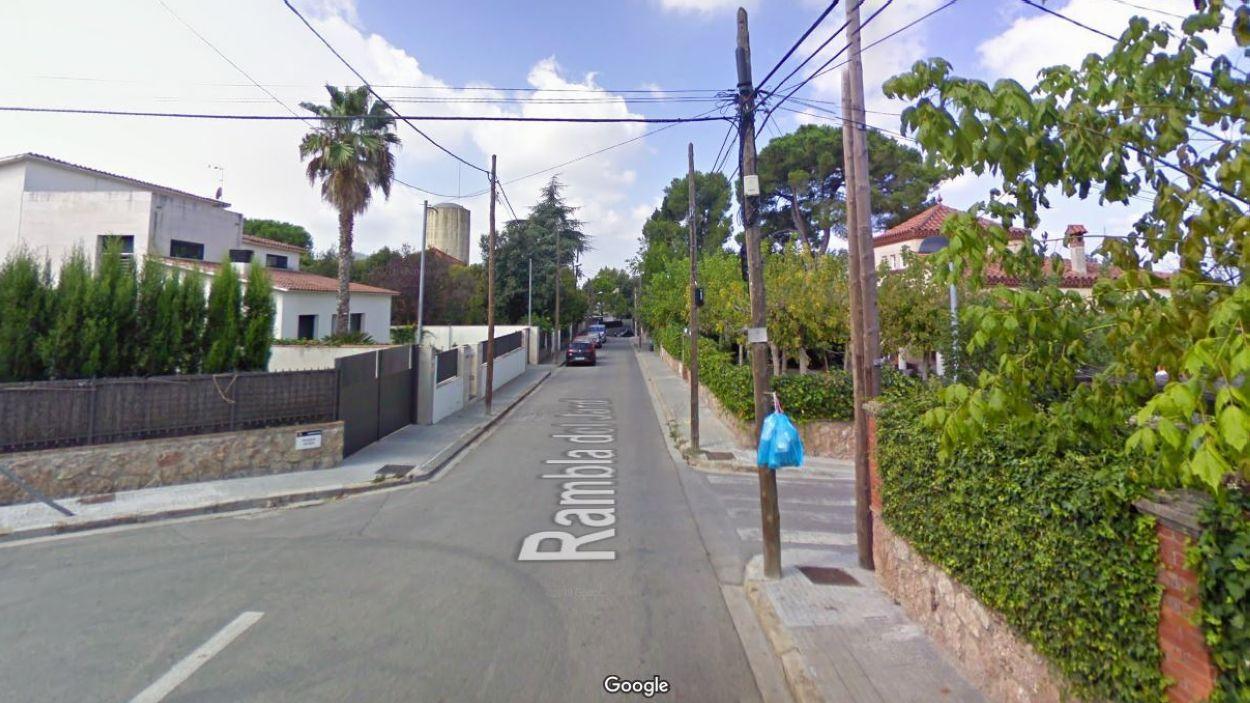 Creuament entre la Rambla del Jardí i el Passeig del Roser / Foto: Google Street View
