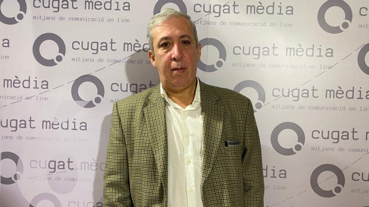 Pere Riera ha visitat el programa 'Esport en Marxa' de Cugat Mèdia / Font: Cugat Mèdia