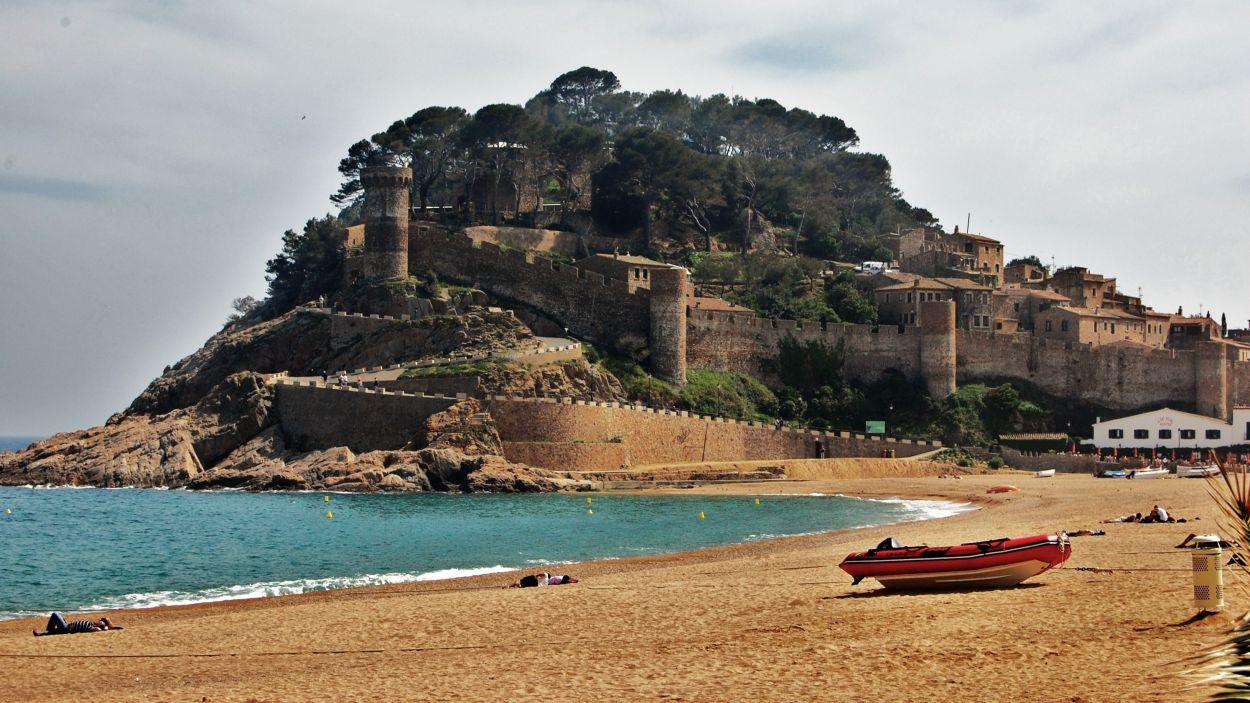 Imatge del castell de Tossa / Foto: CC - https://www.flickr.com/photos/mrosa-ferre