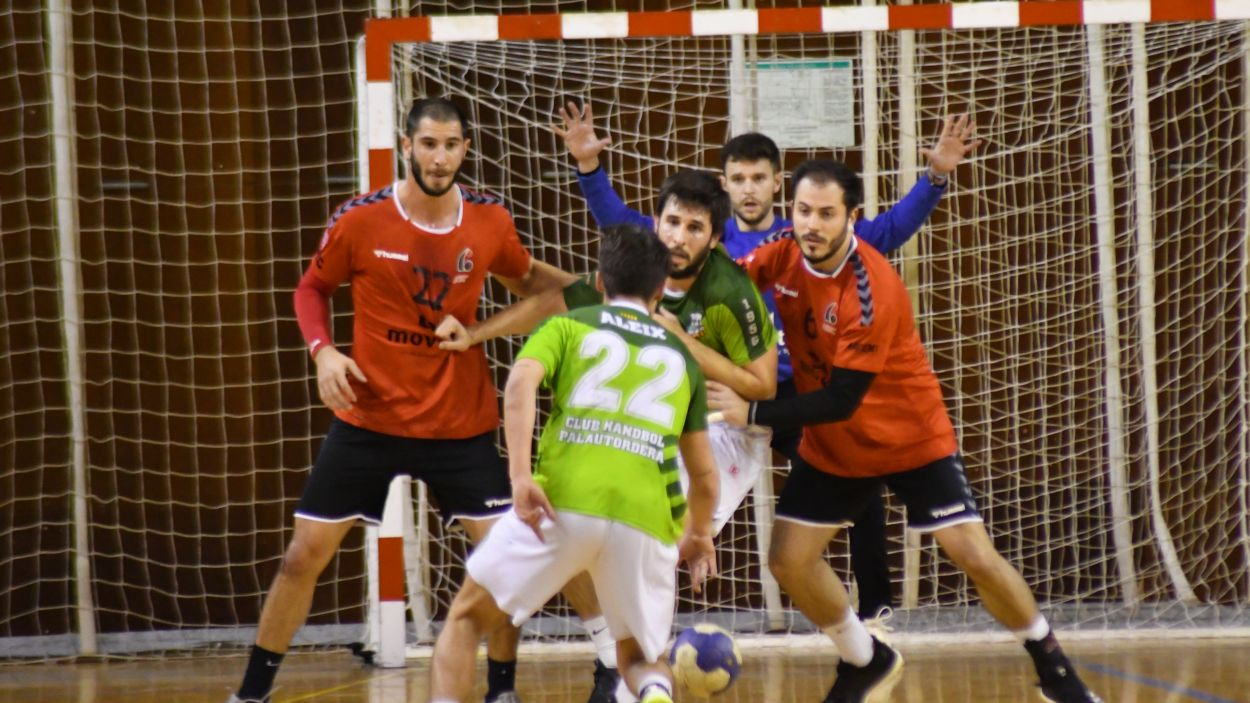 L'Handbol Sant Cugat vol sumar la setena victòria consecutiva / Font: Anna Maymús