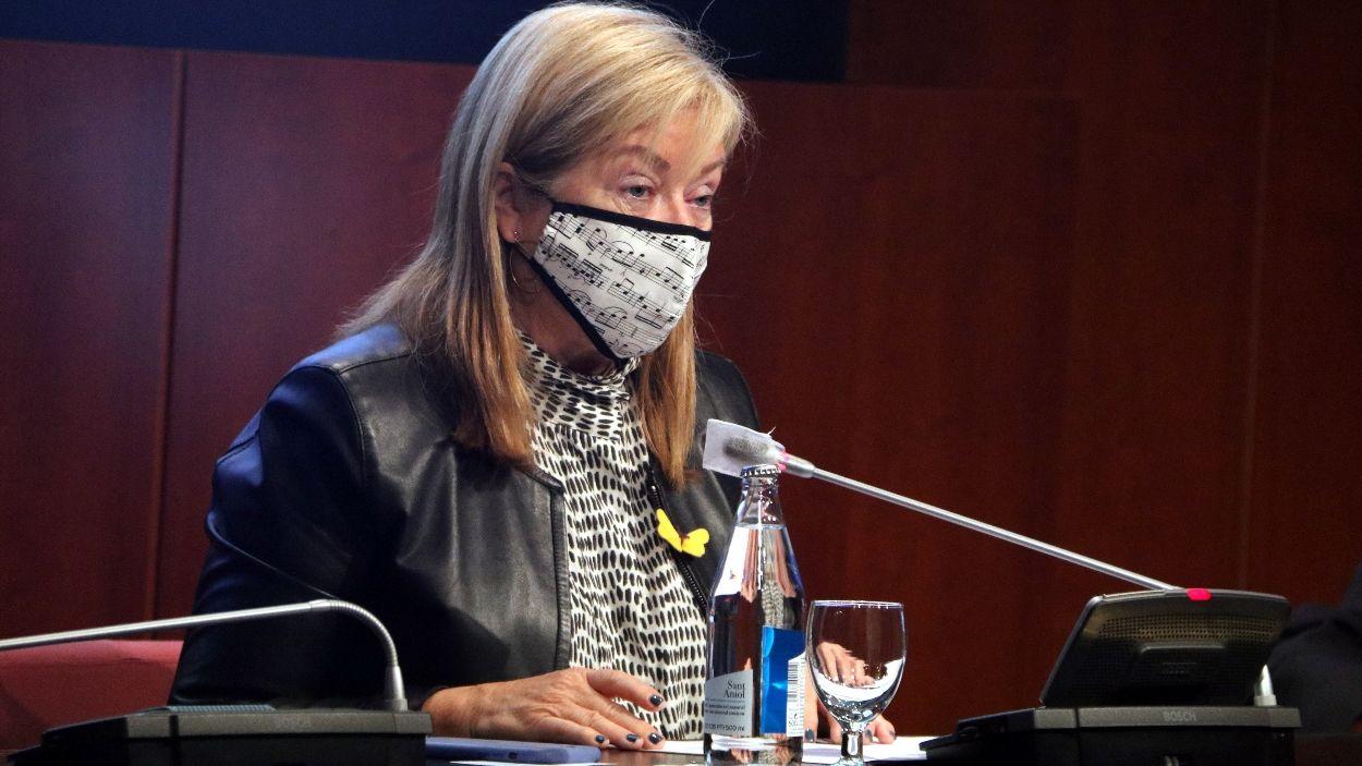 La consellera de Cultura, Àngels Ponsa / Foto: ACN
