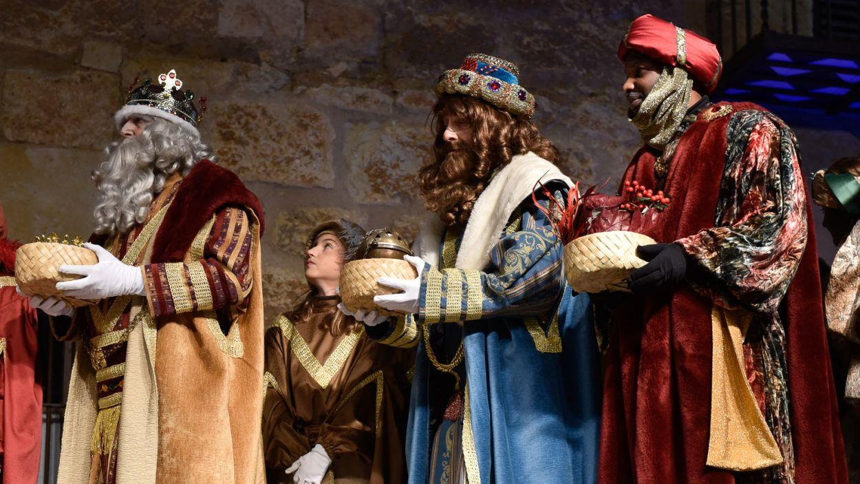Una imatge d'arxiu dels Reis Mags de l'Orient a Sant Cugat / Foto: Ajuntament de Sant Cugat