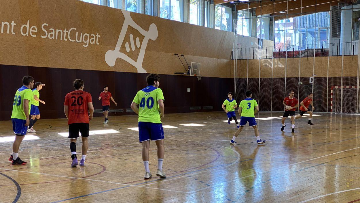 Els santcugatencs cercaran la desena victòria de la temporada. / Font: Cugat Mèdia