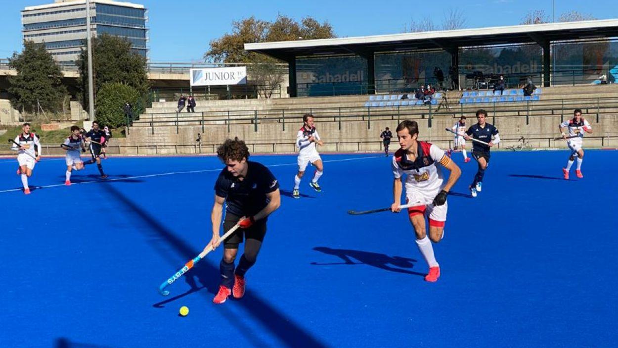 Imatge del partit entre el Junior i el Polo / Font: Cugat Mèdia