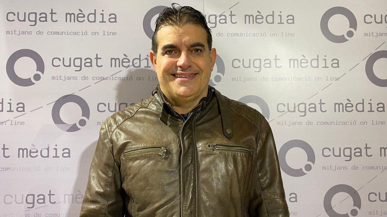 Lluís Fernández- Alá al programa 'Esport en Marxa' / Font: Cugat Mèdia