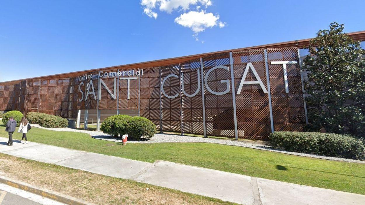 El Centre Comercial Sant Cugat podrà tornar a obrir de dilluns a divendres / Foto: Google Maps