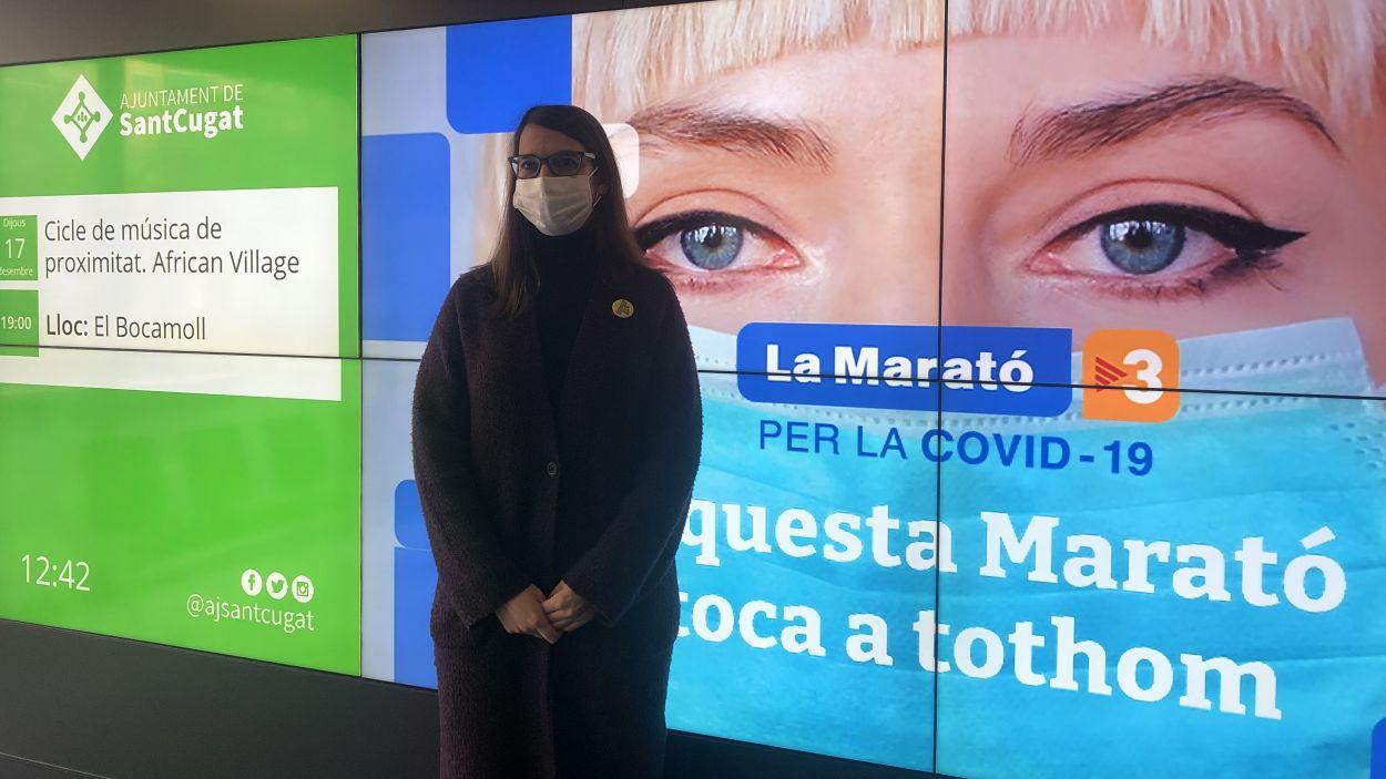 Presentació de les activitats a Sant Cugat per La Marató de TV3