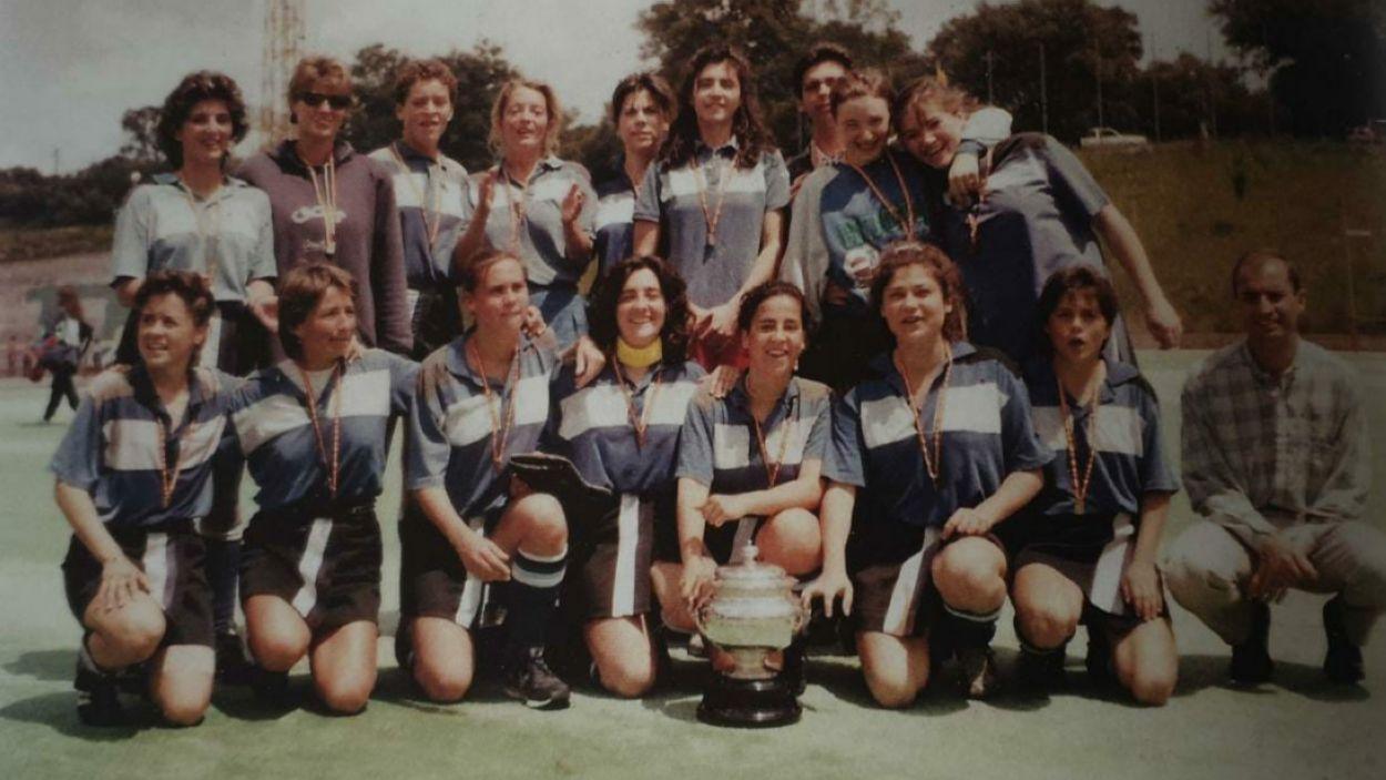 Imatge del Junior que va assolir la primera Copa de la Reina fa 32 anys / Font: Sandra Serrahima