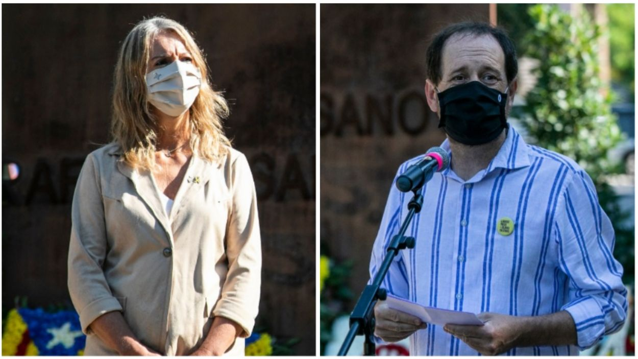 Ingla i Cisteró, a l'acte institucional de la Diada Nacional / Foto: Ajuntament de Sant Cugat