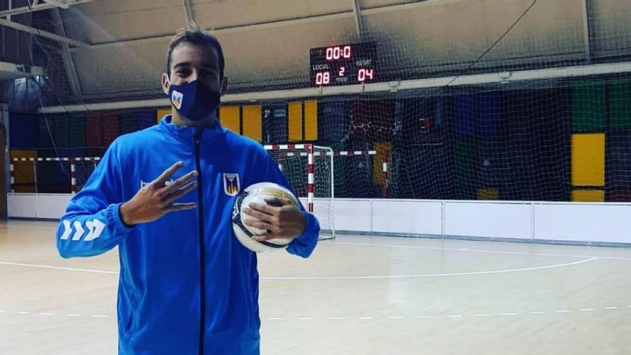 Victor Olivera és un dels màxims golejadors de l'Olímpyc Floresta / Font: Olímpyc Floresta