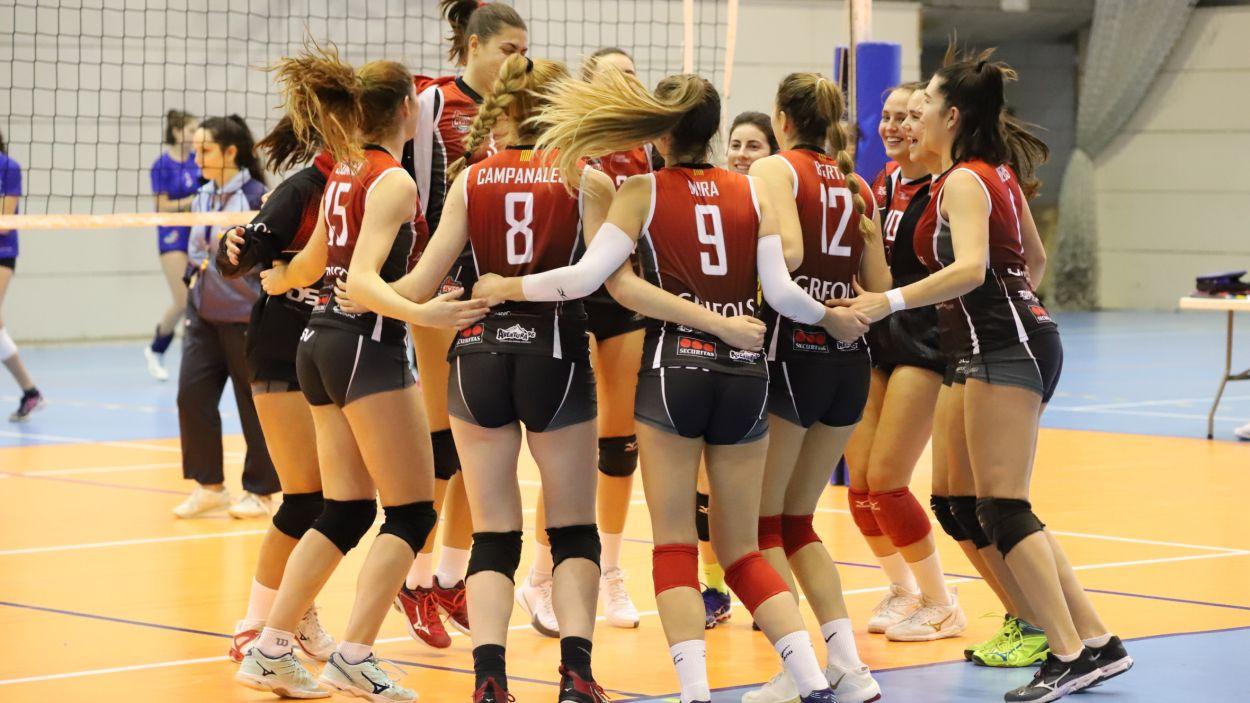 Les vermell-i-negres són líders de la Primera Nacional Grup B / Font: DSV Volei Sant Cugat