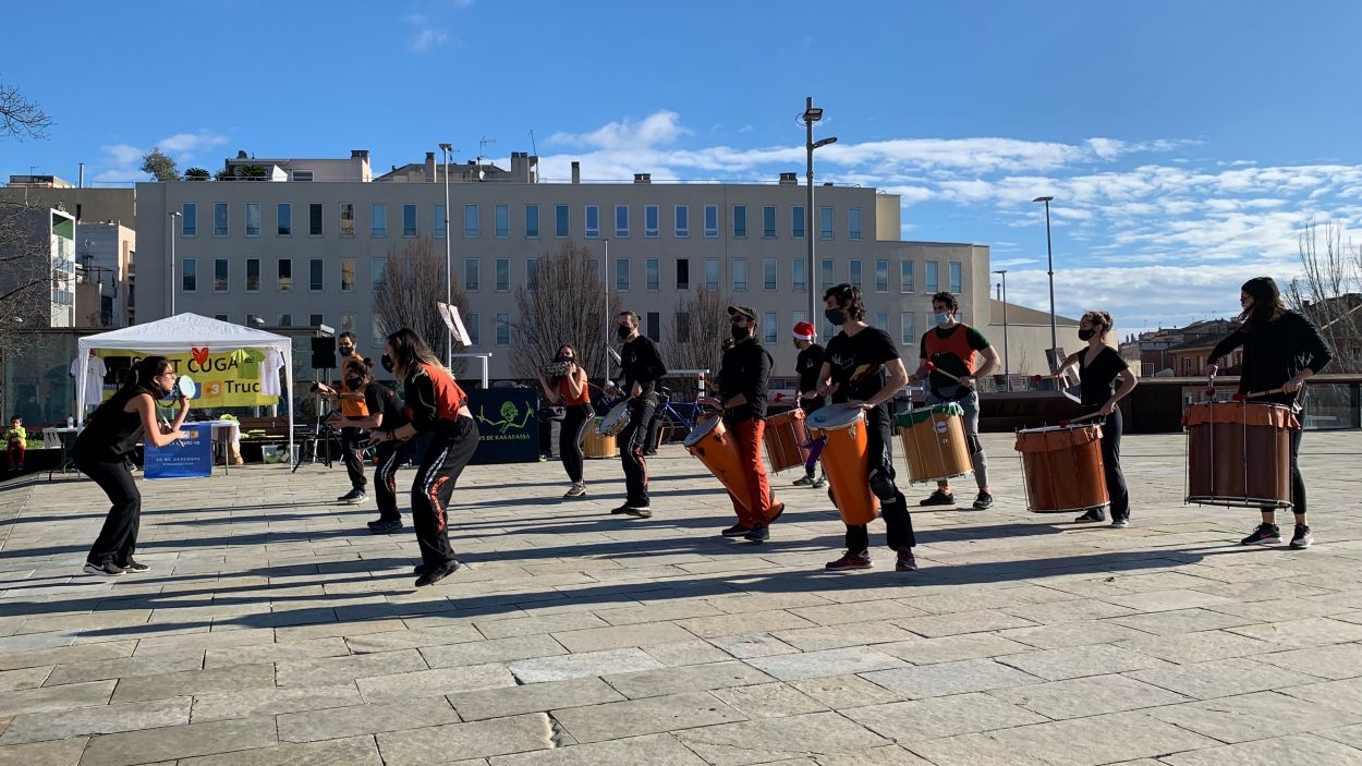 Assaig obert de Karabassà per La Marató de TV3 / Foto: Cugat Mèdia