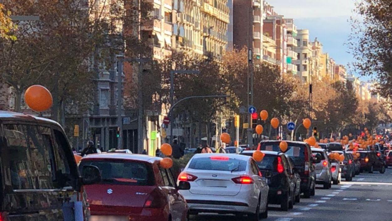 Imatge de la manifestació a Barcelona / Font: Josep Manuel Prats