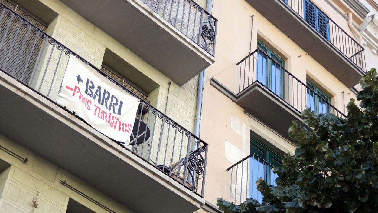 Els pisos turístics generen problemes a moltes ciutats catalanes / Foto: ACN
