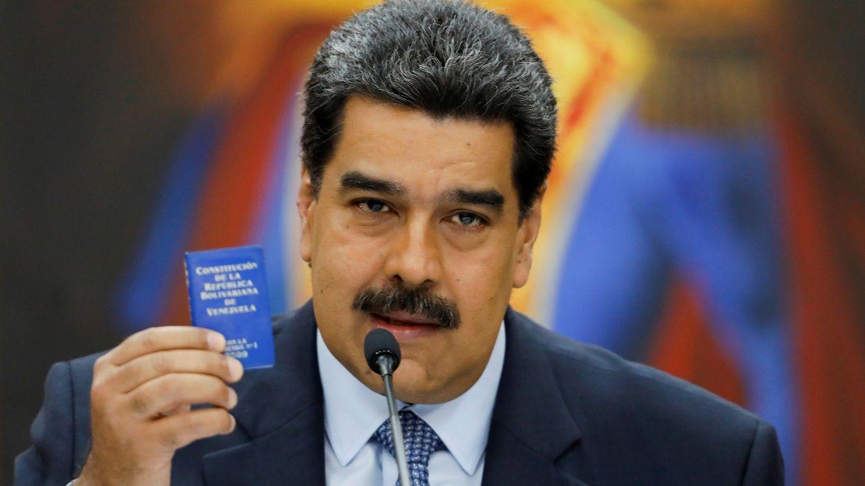 Imatge d'arxiu del president de Veneçuela, Nicolás Maduro / Foto: ACN