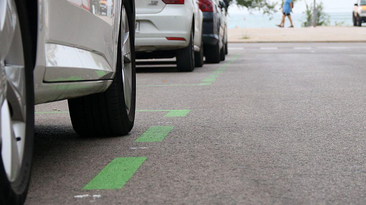 L'aplicació permetrà pagar l'estacionament sense haver de passar pel parquímetre / Foto: ACN
