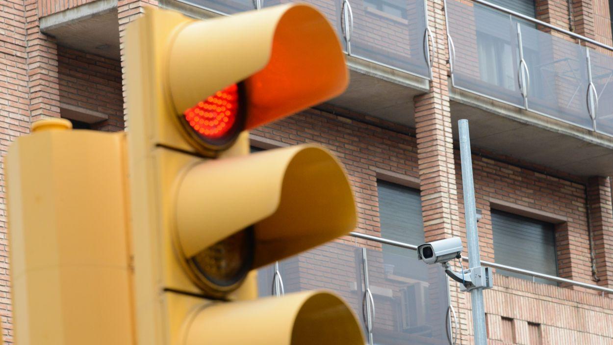 Imatge d'arxiu d'una càmera de seguretat / Foto: Ajuntament