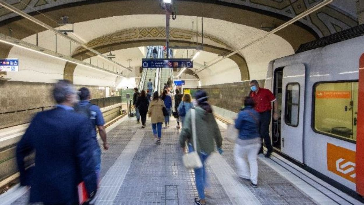 La nova estació de Plaça Catalunya / Foto: FGC