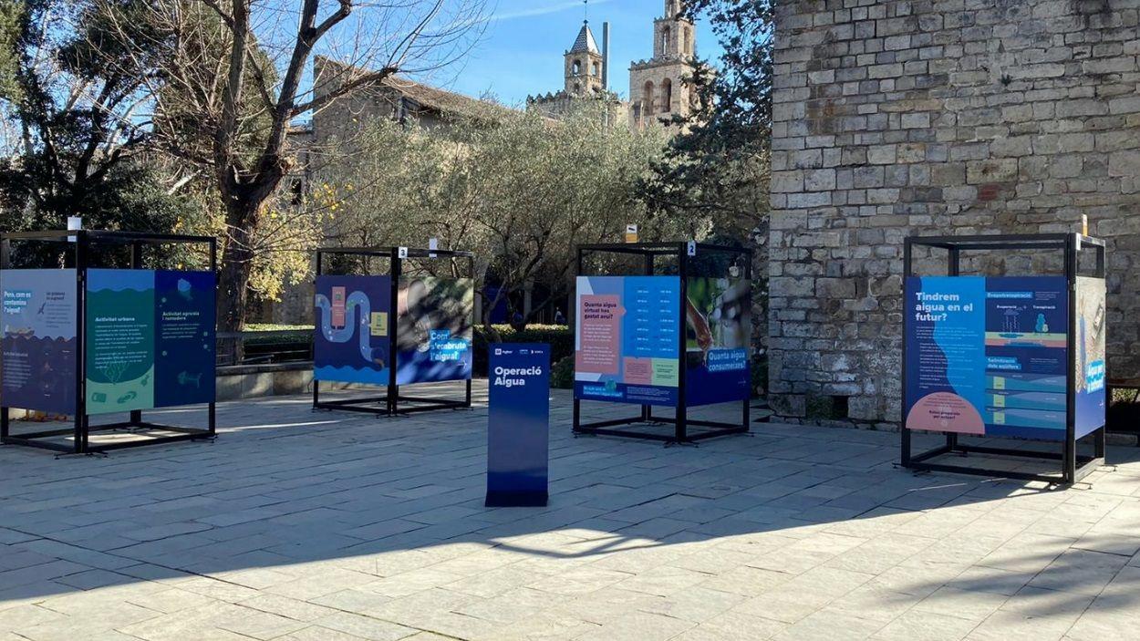 La mostra es podrà veure fins el 20 de gener a la plaça de l'Om de Sant Cugat / Foto: Sorea