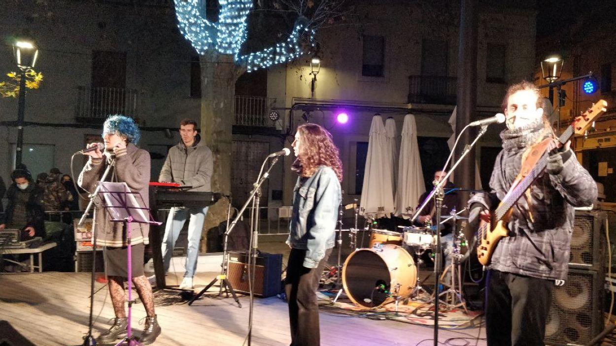 Les actuacions han tingut lloc a la plaça de Barcelona / Foto: Cugat Mèdia