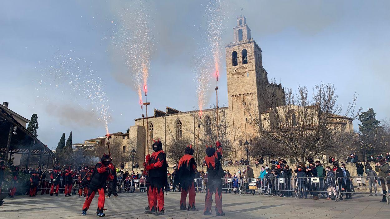 FM 2021: Versots i esclat de foc de Festa Major