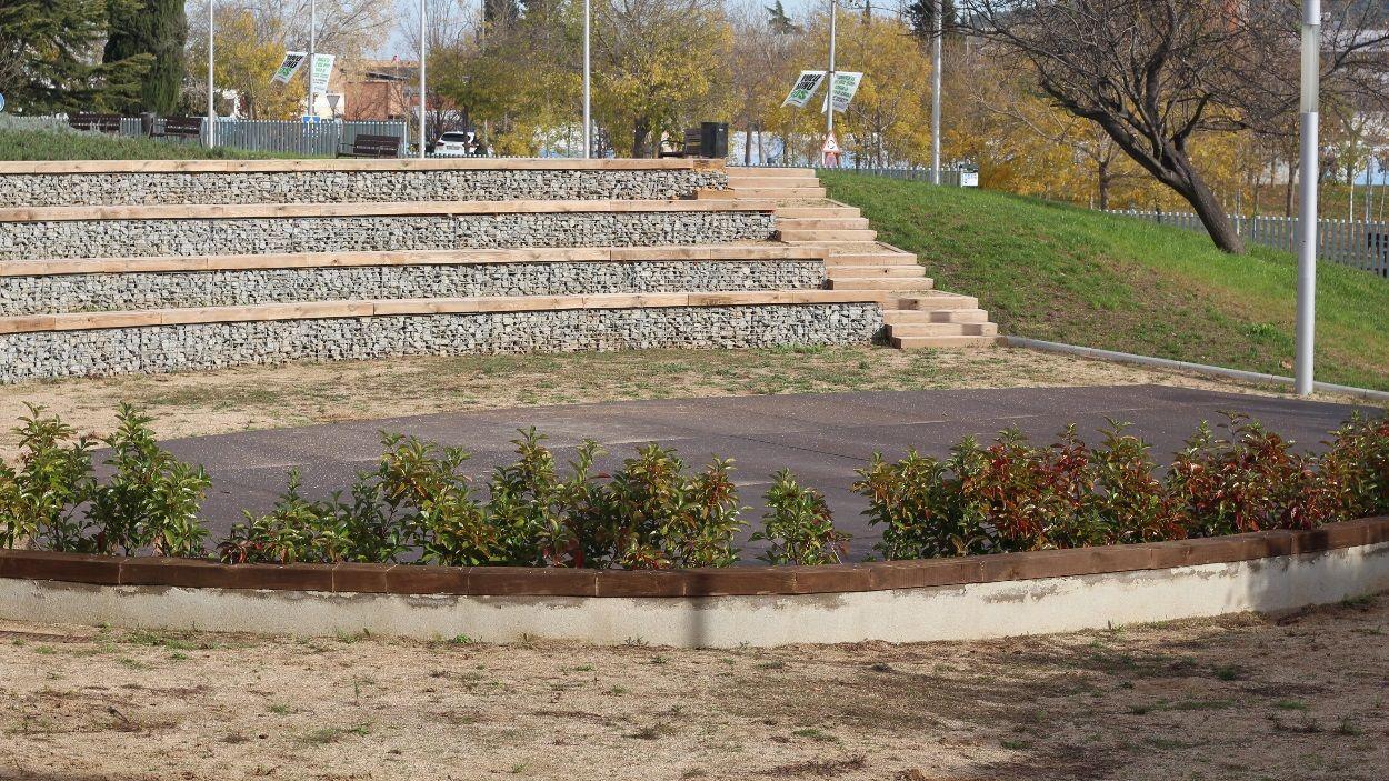 Imatge de l'amfiteatre dels Jardins del Vallès / Foto: Ajuntament de Sant Cugat