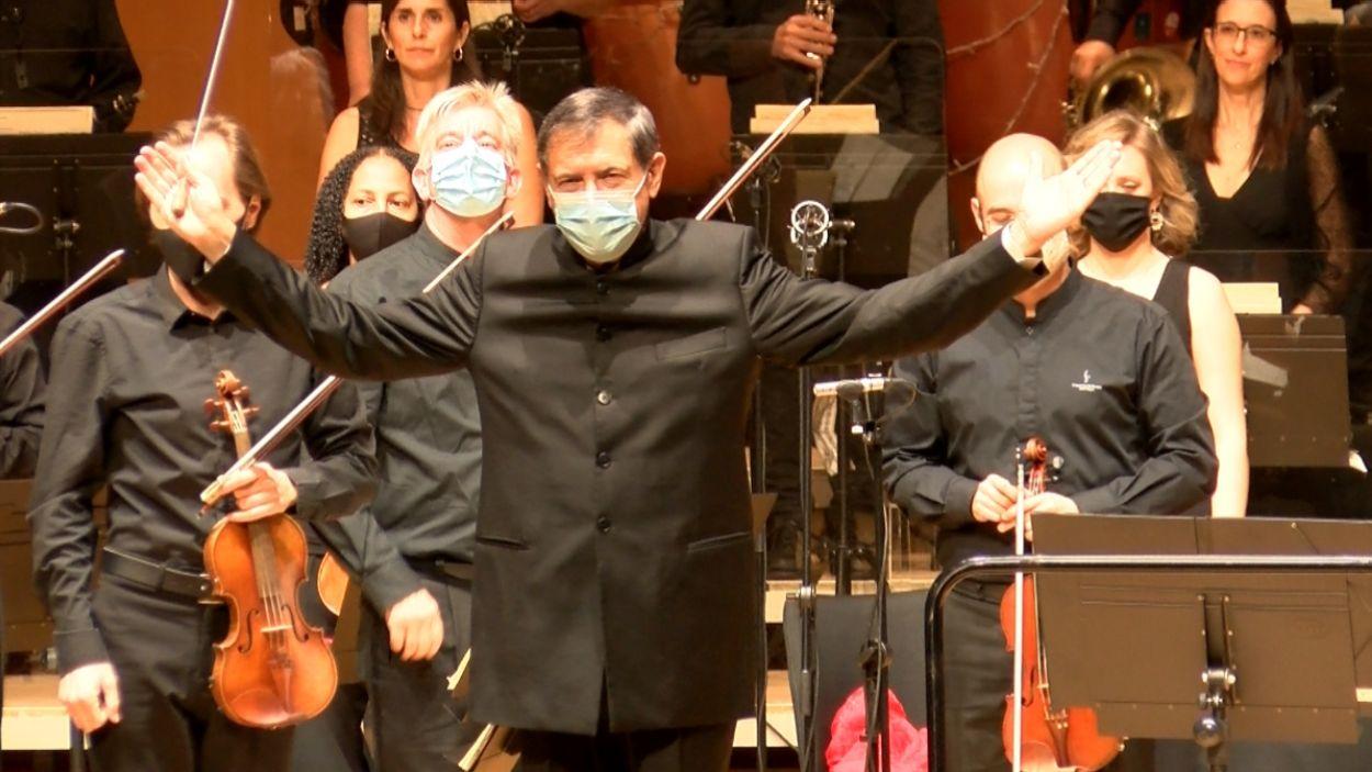 Salvador Brotons al Teatre-Auditori Sant Cugat / Foto: Cugat Mèdia