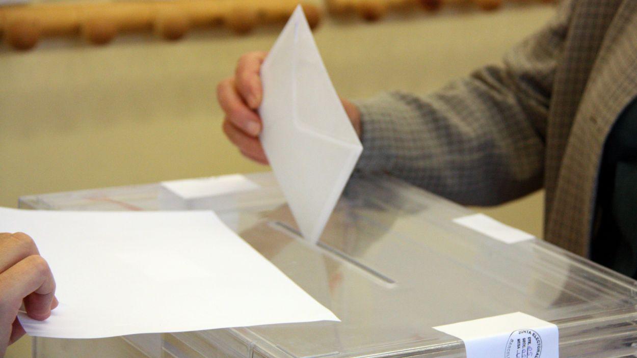 Imatge d'arxiu d'una votació / Foto: ACN
