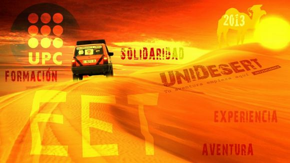 Cartell promocional del rally / Font: Unidesert 2013