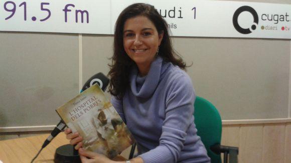 Tània Juste explica la història del recinte de Sant Pau a 'L'hospital dels pobres'