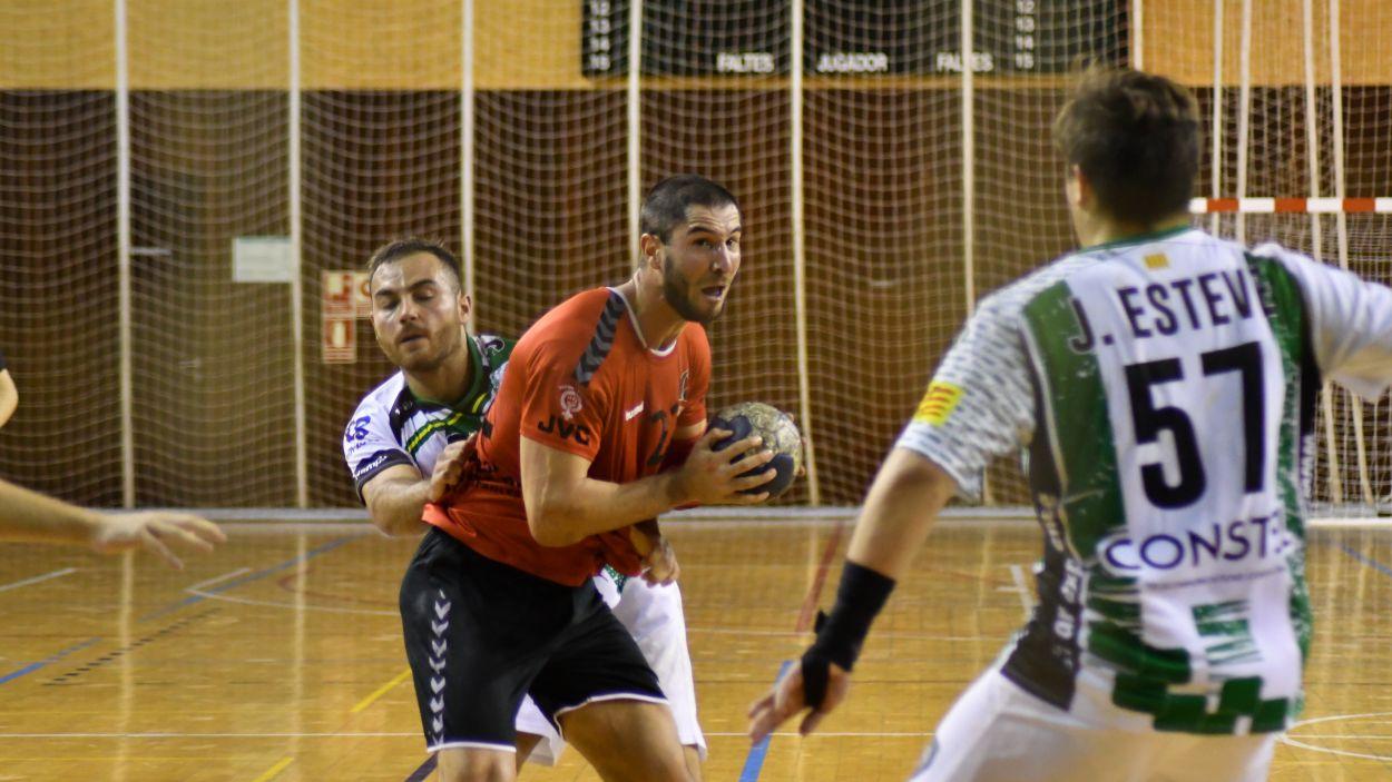 Marc Jordán ha marcat sis gols davant la Roca / Font: Anna Maymús