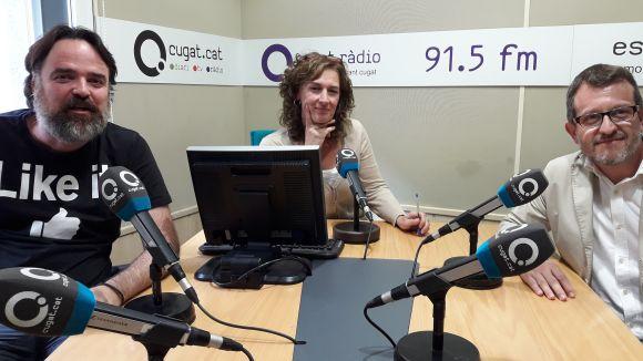 Oriol Castellví, Susana García i Albert Fontanet