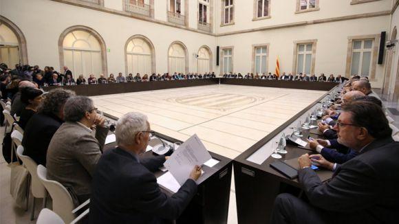 Cimera del Pacte Nacional pel Referèndum de desembre / Foto: Gencat