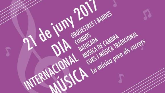 Dia Internacional de la Música: la música pren els carrers!