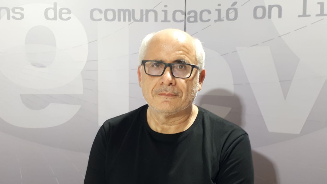 Martí Marín, president de Petits Músics del Món / Foto: Cugat Mèdia