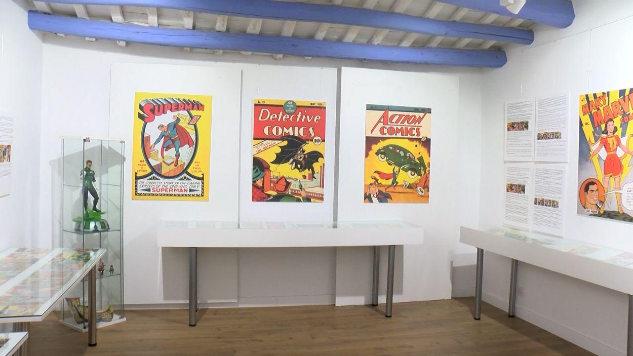 Exposició 'Comic Heroes' / Foto: Cugat Mèdia