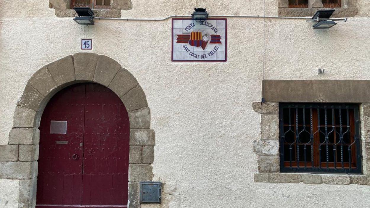 Seu de la Penya Blaugrana de Sant Cugat / Font: Cugat Mèdia
