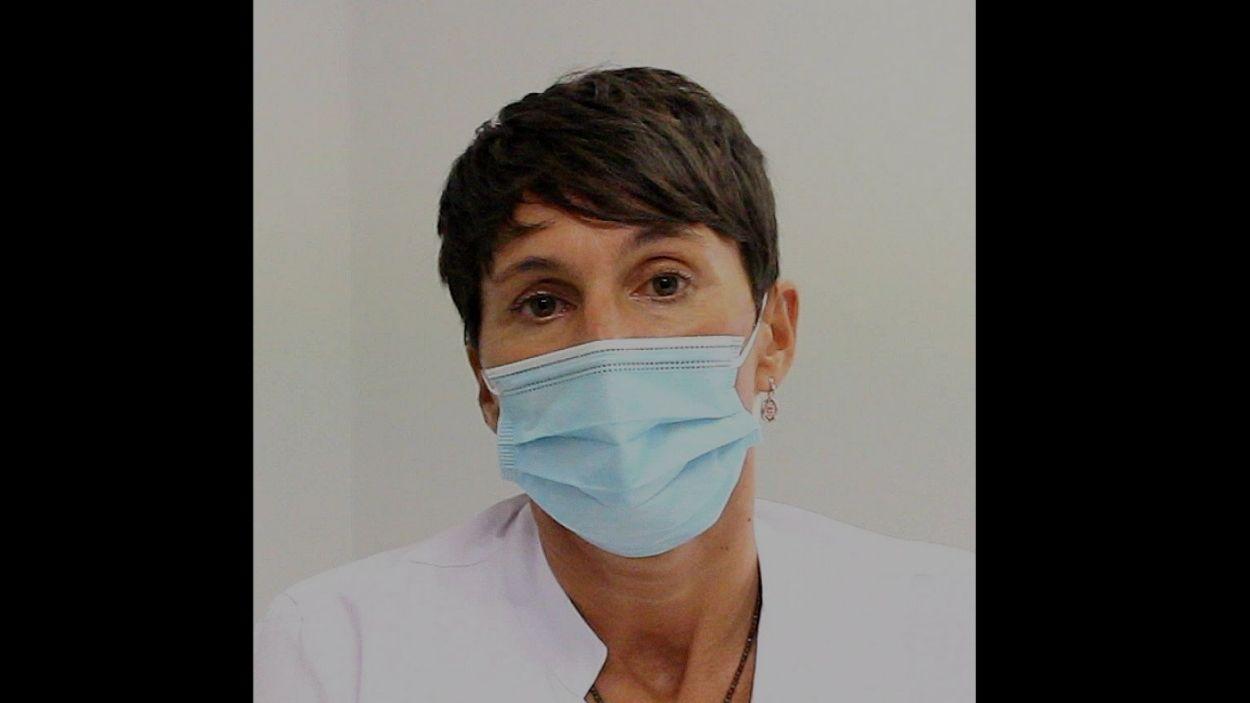 La doctora Barbadillo és la presidenta del Comitè de Malalties Infeccioses de l'HUGC / Foto: HUGC