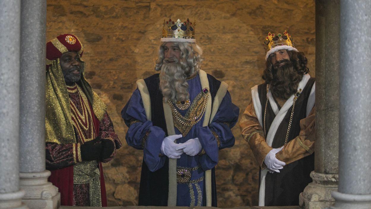 Els Reis Mags al Campament Reial / Foto: Ajuntament de Sant Cugat - Lali Puig