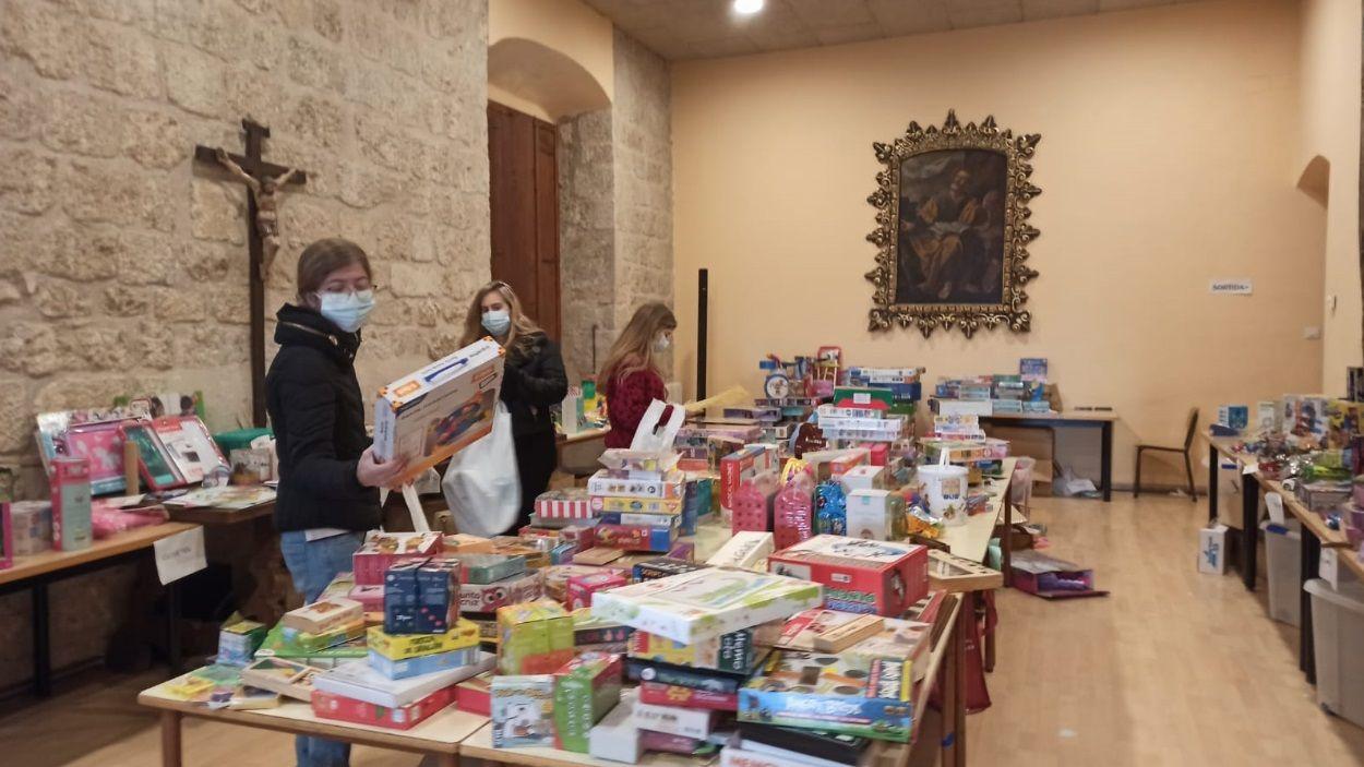 Imatge de les joguines rebudes aquest any a la campanya / Foto: Parròquia de Sant Pere d'Octavià